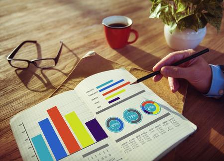 Business Marketing Strategy Design Ideas Concept de travail Banque d'images - 39199579