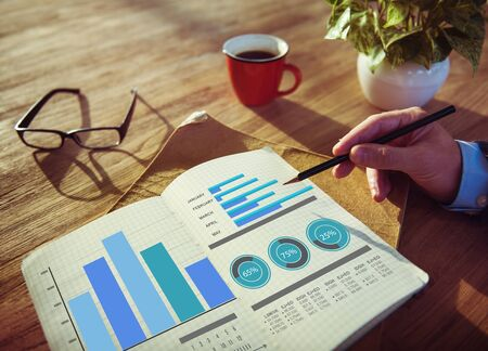 Estrategia de marketing de negocios Ideas de Diseño Concepto de Trabajo
