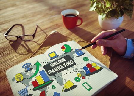 online marketing: online marketing concept