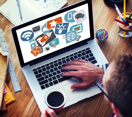medios de comunicaci�n social: Concepto Social Media Medios de Comunicaci�n Social Network Internet Tecnolog�a Online