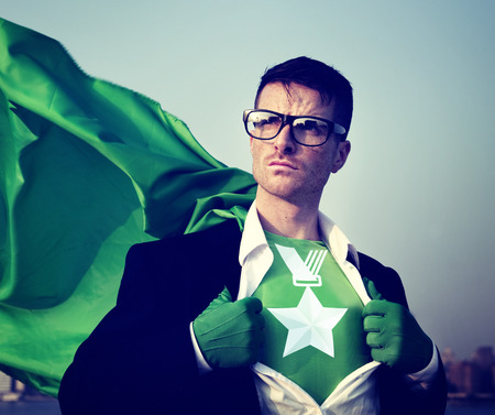 empowerment: Medal Strong Superhero Success Professional Empowerment Stock Concept