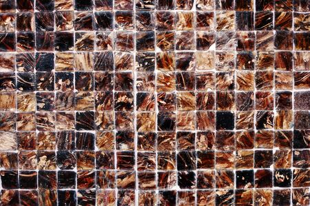 wall design: Tiled Wall Design Element Textured Wallpaper Concept Stock Photo