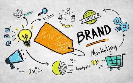 アイデアの商業企画マーケティング ブランド コンセプト 写真素材 - 39450033