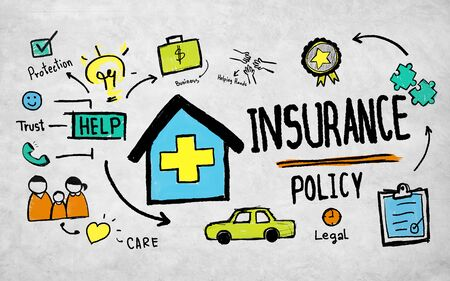 medical expenses: insurance policy concept Stock Photo