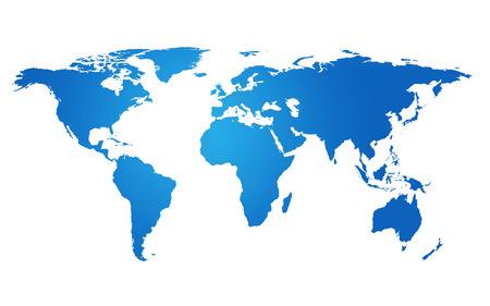 mapa mundi: concepto global mapa