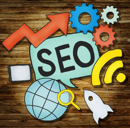 seo services: SEO Growth strategy Marketing Planning Data Concept