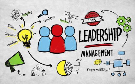 group leadership: Business Leadership Management Vision Professional Concept