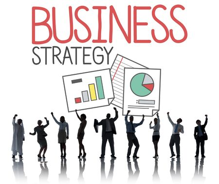sucess: Business Strategy Ideas Sucess Concept Stock Photo