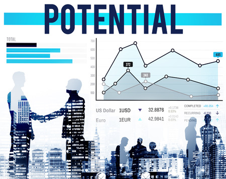 probable: Potential Ability Analysis Possibility Opportunity Concept Stock Photo
