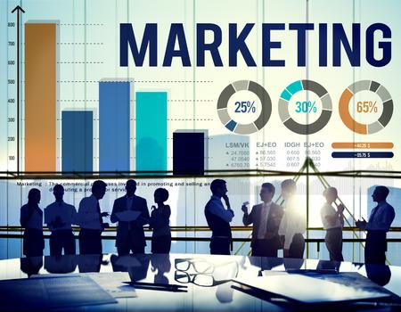 distributing: Marketing Distributing Analysing Data Bar Graph Concept