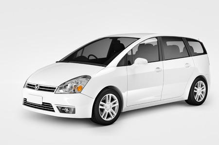 현대적 우아함 자동차 차량 교통 고급 성능의 개념