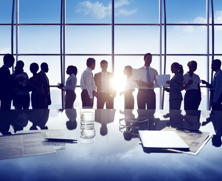 Business People Corporate White Collar Worker Office Concept Stockfoto