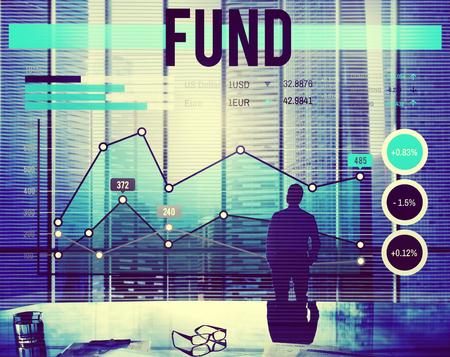 fund: Business Fund Report Progress Concept