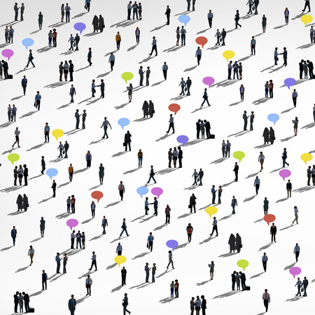 Communication People Diverse Crowd Business People Concept Stock Photo - 41147953