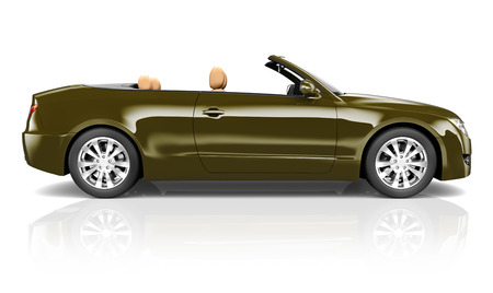 top down car: Contemporary Shiny Luxury Transportation Performance Concept