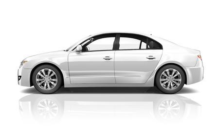 new generation: Illustration of Transportation Technology Car Performance Concept
