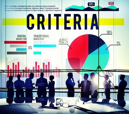 regulation: Criteria Conduct Information Commandments Regulation Concept