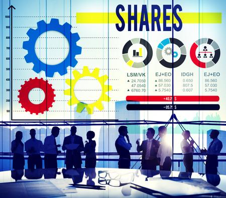 dividend: Shares Sharing Asset Contribution Dividend Concept
