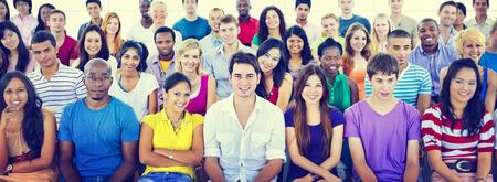 akademický: Rozmanitost Teenager Team Seminář školení Vzdělávání Concept