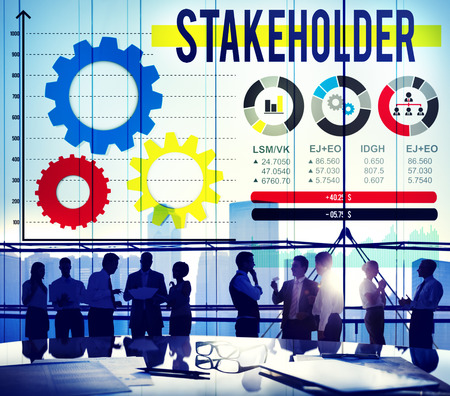 contributor: Stakeholder Contributor Partner Corporate Deal Concept