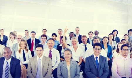 personas sentadas: Grupo de Diversidad de negocios Reuni�n Conferencia Concepto