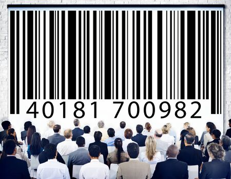 ordinal: Bar Code Identity Marketing Data Encryption Concept