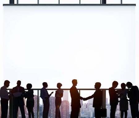 global partnership: Business Team Meeting Corporate Partnership Concept