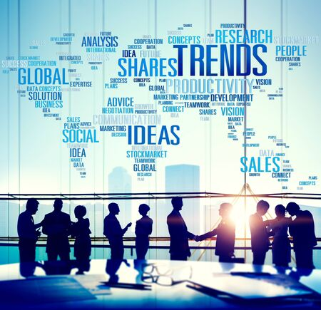 Global Shares Trends Ideas Sales Solution Expertise Concept photo