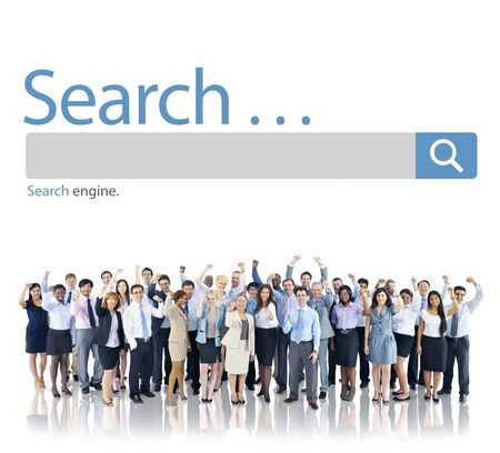 executive search: Search Browse Find Internet Search Engine Concept