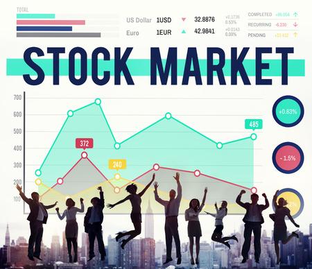 Stock Market Economy Finance Forex Shares Concept