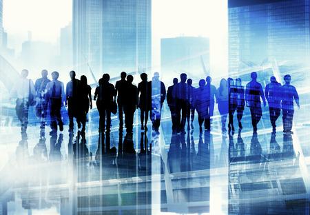 grupo de personas: Concepto Etnia Gente de negocios Oficina Oficio con t�tulo Foto de archivo