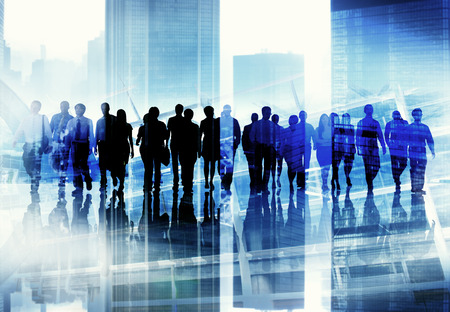 crowd of people: Ethnicity Business People Professional Occupation Office Concept