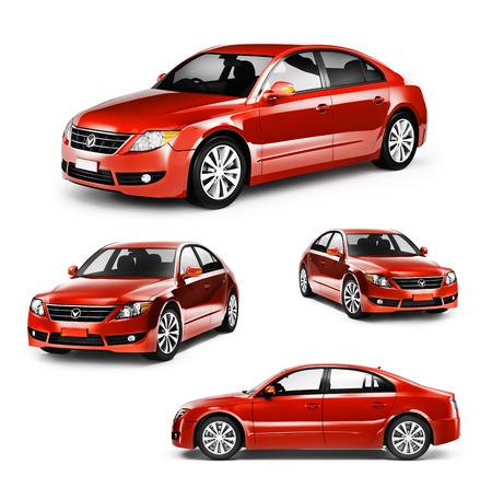 Contemporaine Brillant transport de luxe Performance Concept Banque d'images - 41190794