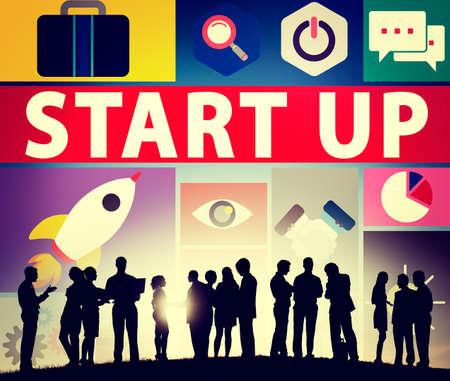 start up: Start Up Business New Launch Technology Concept