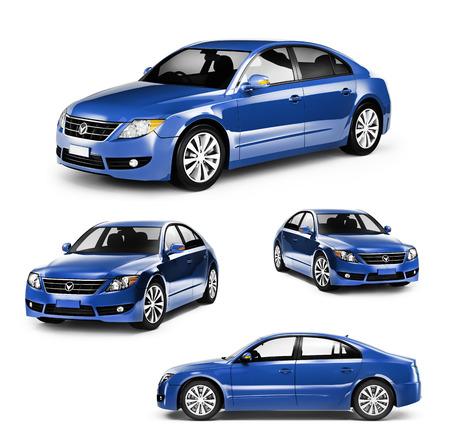 Contemporaine Brillant transport de luxe Performance Concept Banque d'images - 41190144