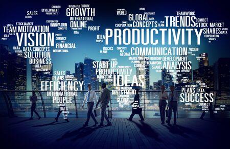 mision: Misión Estrategia Productividad Empresarial Mundial Vision Concept