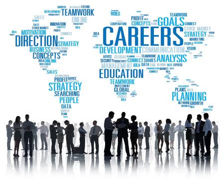 recursos humanos: Conexión Tecnología Networking Comunicación Global Concept