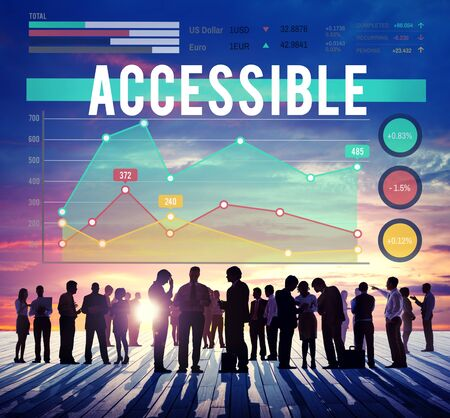 approachable: Accessible Usable Available Concept