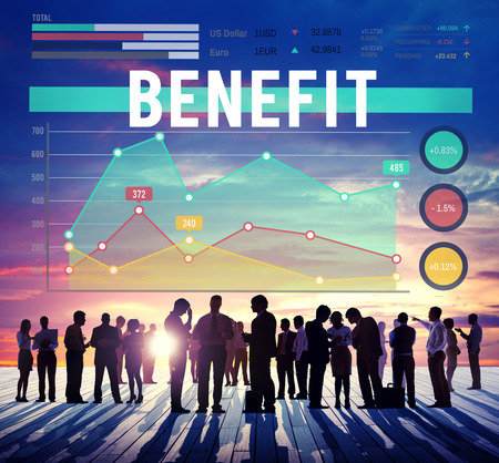 perks: Benefit Profit Value Perks Marketing Business Concept