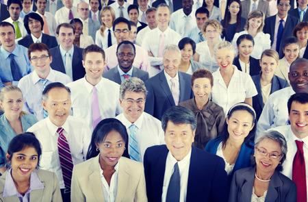 persona de pie: Diversidad Gente de negocios Coorporate Community Team Concept