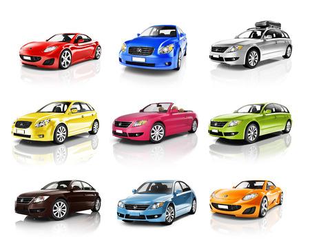 new automobile: Car Automobile Contemporary Drive Driving Vehicle Transportation Concept