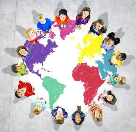 other world: World Map Global International Globalisation Concept
