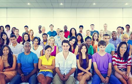 college professor: Diversity Teenager Team Seminar Training Education Concept
