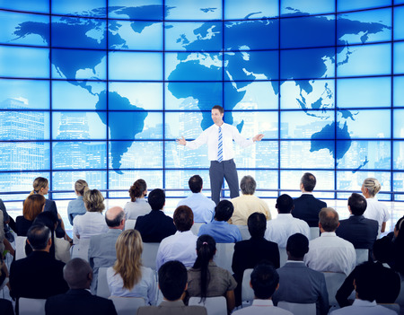 Business People Corporate Global Business Seminar Concept