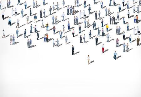 群衆の人々 民族多様性概念の大規模なグループ