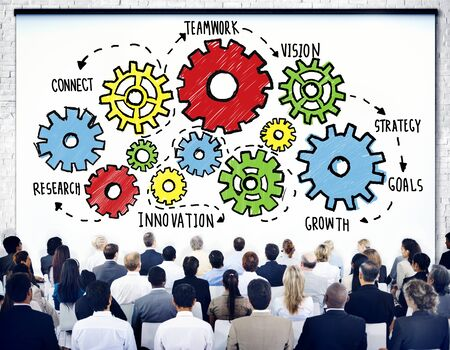 Team Teamwork Goals Strategy Vision Business Support Concept photo