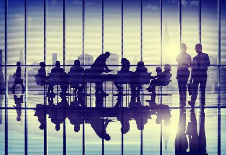 reuniones empresariales: Gente de negocios Reunión de Trabajo Trabajo en equipo Concepto Foto de archivo