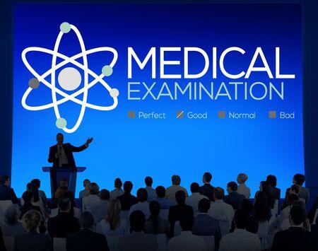 Medical Examination Check Up Diagnosis Wellness Concept Stock Photo
