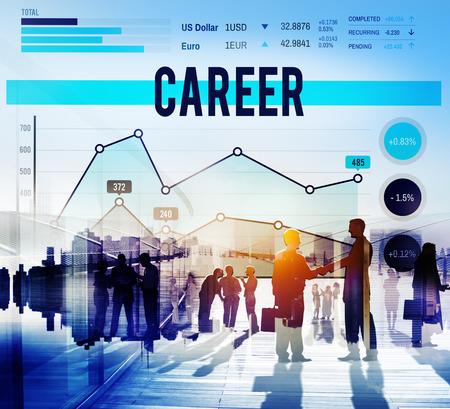 job occupation: Career Job Occupation Business Goals Concept