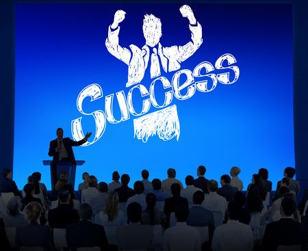 gain: Success Achievement Winning Gain Profit Concept